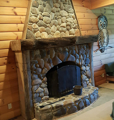 AA Farms Inc. Fireplace